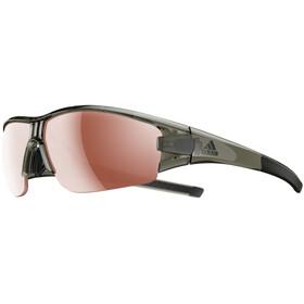 adidas Evil Eye Halfrim Cykelglasögon brun/oliv